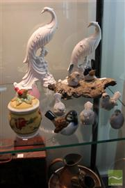 Sale 8226 - Lot 76 - Goebel Bird Figure with Others Bird Figures incl Murano