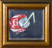 Sale 8800 - Lot 244 - Artist Unknown - Coke Can with Straw, after Andy Warhol 28 x 25cm
