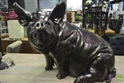 Sale 8361 - Lot 1019 - Composite Figure of A Pig