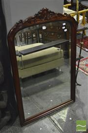 Sale 8368 - Lot 1051 - Timber Framed Mirror