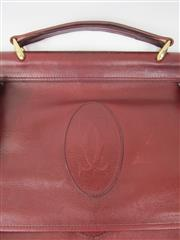 Sale 8451B - Lot 67 - Cartier Red Leather Garment Bag