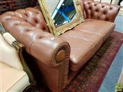 Sale 8480 - Lot 1051 - Chesterfield 2 Seater Lounge