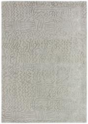 Sale 8651C - Lot 30 - Colorscope Collection; Handtufted Wool and Viscose Modern - Silver/Cream Rug, Origin: India, Size: 160 x 230cm, RRP: $999