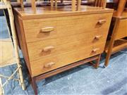 Sale 8705 - Lot 1052 - G-Plan E. Gomme Chest of Three Drawers