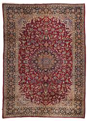 Sale 8715C - Lot 1 - A Persian Najafabad From Isfahan Region, 100% Wool Pile On Cotton Foundation, 392 x 278cm