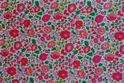 Sale 8872F - Lot 21 - Liberty Art Fabrics – D'anjo A Red Pink, 100% cotton, 1.36m wide, LW  9.2 metres, rrp.$50/m