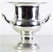 Sale 8960 - Lot 68 - A Silver Plated Twin Handle Champagne Bucket (H 24cm Dia23cm)