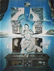 Sale 9078A - Lot 5035 - Salvador Dali (1904 - 1989) - Madonna of Port Lligat 58 x 43.5 cm (frame: 100 x 78 x 5 cm)