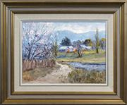 Sale 8433 - Lot 2007 - John Colin Angus (1907 - 2002) - Spring Morning, 1985 29 x 39cm