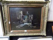 Sale 8437 - Lot 2057 - Peter Fuller (XX) - Still Life 29.5 x 39.5cm