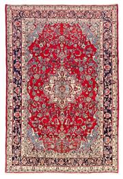 Sale 8800C - Lot 23 - A Persian Kashan From Isfahan Region 100% Wool Pile On Cotton Foundation, 212 x 323cm