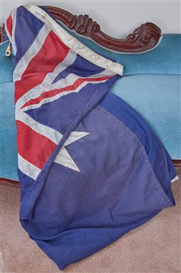 Sale 9103M - Lot 449 - A large Australian flag approx 132cm x 273cm