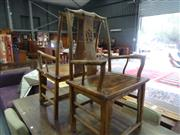 Sale 7968B - Lot 91 - Pair of Oriental Emperor chairs