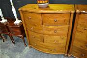 Sale 8124 - Lot 1007 - Pine Chest of 9 Drawers