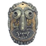 Sale 8296 - Lot 20 - Turtle Shell Tribal Mask