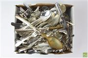 Sale 8529 - Lot 136 - Plated Cutlery Service inc Ladle