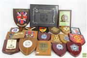 Sale 8563 - Lot 203 - Large Collection Of Plaques Including Military