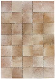 Sale 8651C - Lot 32 - Colorscope Collection; Handstitched Cowhide - Light Taupe Rug, Origin: India, Size: 160 x 230cm, RRP: $1999