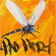 Sale 8755A - Lot 5036 - Kevin Charles (Pro) Hart (1928 - 2006) - Dragonfly 9.5 x 9cm
