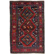 Sale 8860C - Lot 40 - A Caucasian An Antique  Kazak, Circa 1950, in Handspun Wool 130x206cm