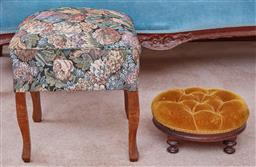 Sale 9103M - Lot 450 - Two foot stools.