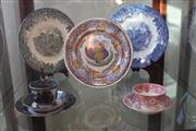 Sale 7982 - Lot 81 - Pair of Wedgwood Plates & Victorian Porcelain incl a Trio