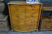Sale 8124 - Lot 1006 - Pine Chest of 9 Drawers