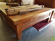 Sale 8469 - Lot 1013 - Over Sized Coffee Table