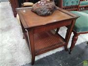 Sale 8580 - Lot 1014 - Tiered Timber Coffee Table