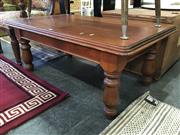 Sale 8782 - Lot 1388 - Timber Coffee table