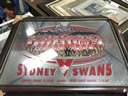 Sale 8805A - Lot 830 - 2005 Sydney Swan Premiers Mirror