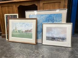 Sale 9094 - Lot 2046 - A group of assorted prints including a quantity of original works on paper -