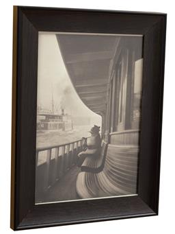 Sale 9120H - Lot 142 - Harry Cazneaux (1878 -1953), on the outside, framed reproduction photograph, 11 x 8