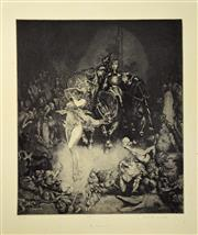 Sale 8019A - Lot 20 - Norman Lindsay (1879 - 1969) - The Innocents 35 x 30cm