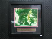 Sale 8125 - Lot 87 - Ali vs Foreman - knockout photograph signed by both boxers