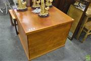 Sale 8289 - Lot 1059 - Timber Lift Top Blanket Box