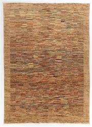 Sale 8800C - Lot 26 - A Striped Afghan Gabbeh Floor Rug, Hand Knotted With Natural Dyes, 214 x 302cm