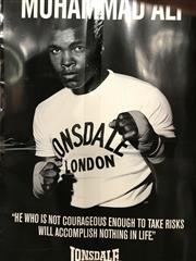 Sale 8805A - Lot 834 - Quantity of Muhammad Ali/Lonsdale Posters (17)