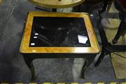 Sale 8134 - Lot 1027 - Hand Painted Single Drawer Side table