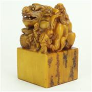 Sale 8393B - Lot 63 - Oriental Dragon Stamp Seal