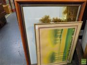 Sale 8461A - Lot 2035 - (2 works) Country Landscape Scenes by Various Artists.