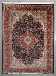 Sale 8545C - Lot 17 - Indian jaipur Silk & Wool 336cm x 245cm