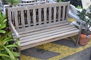 Sale 8550 - Lot 1358 - Timber Outdoor Bench