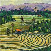 Sale 8693A - Lot 5011 - A D (Tony) North - Ive Been to Bali Too 60.5 x 61cm