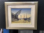 Sale 8836 - Lot 2004 - Gary Baker, Maritime Museum, oil on board, 40 x 34cm, signed lower right