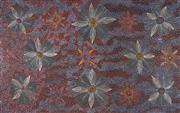 Sale 8916A - Lot 5062 - Susan Hunter Petyarre (c1966 - ) - Wild Flowers 89 x 112 cm (stretched and ready to hang)