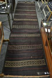 Sale 8105 - Lot 1034 - Persian hand Knotted Kilim Runner (350 x 80)