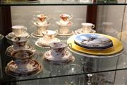 Sale 8346 - Lot 96 - Royal Albert Celebrations Trio with Other Ceramics incl Royal Doulton Cabinet Plates