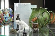 Sale 8346 - Lot 48 - Martin Boyd Jug with Other Wares incl. Lladro Polar Bear
