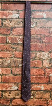 Sale 8420A - Lot 53 - A Jack London mens maroon silk tie, condition: new with tags
